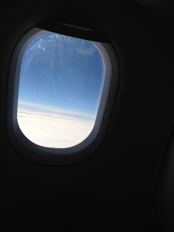 Picture out of plane window